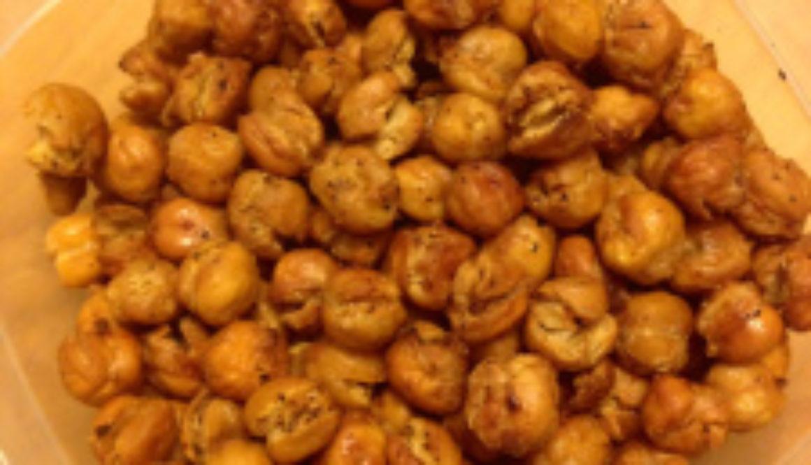 crunchy chic peas
