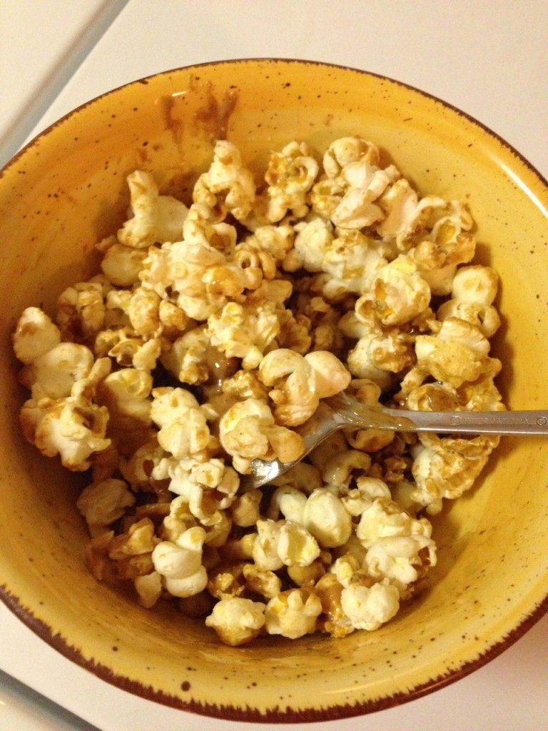 Peanut Butter Popcorn!