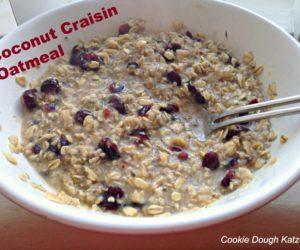 coconut-craisin-oatmeal
