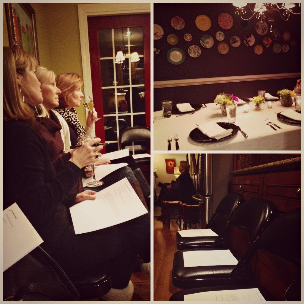 Debi's dinner party