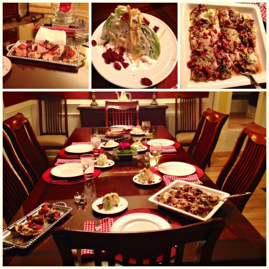 Belmont Dinner