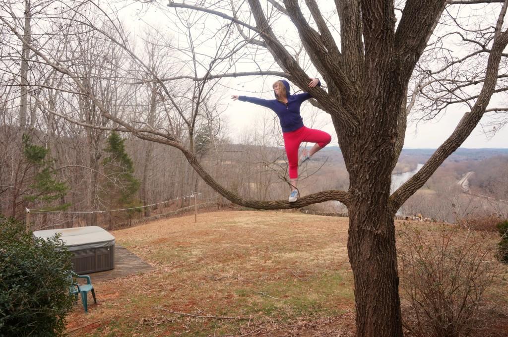 climbing tree tricks