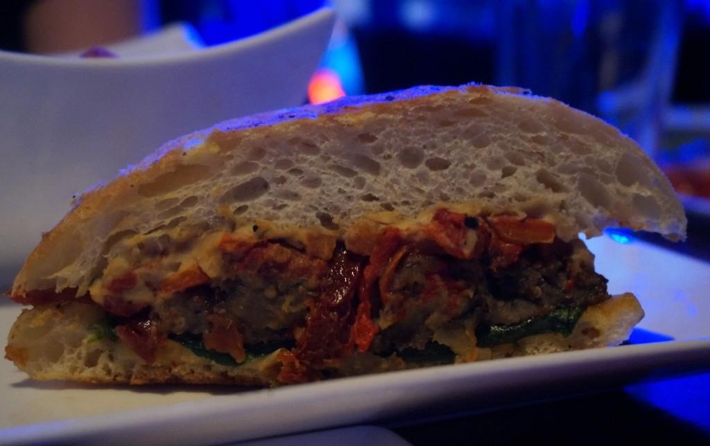 eggplant panini