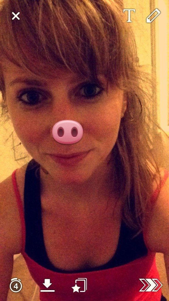 snapchat piggy