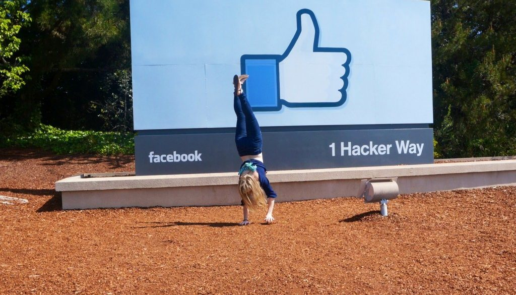 handstands at facebook