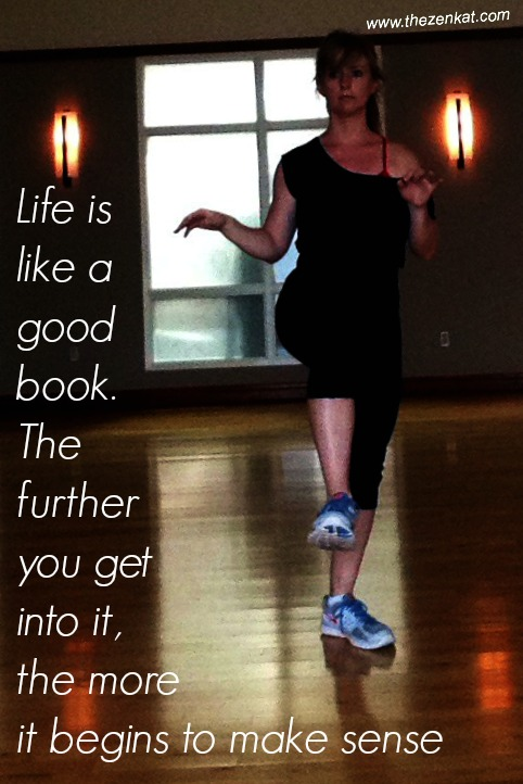 life as a book tai chi