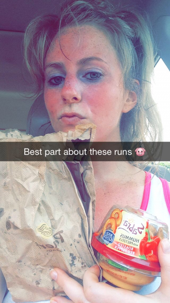 food after running