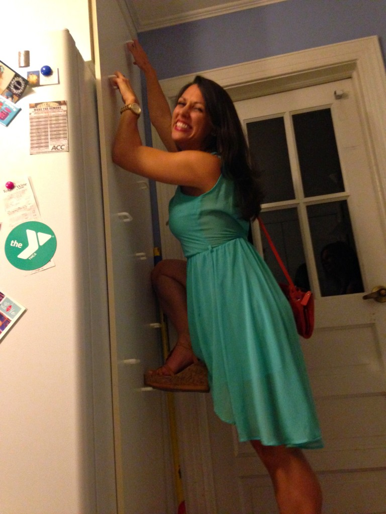 jeanna goes climbing