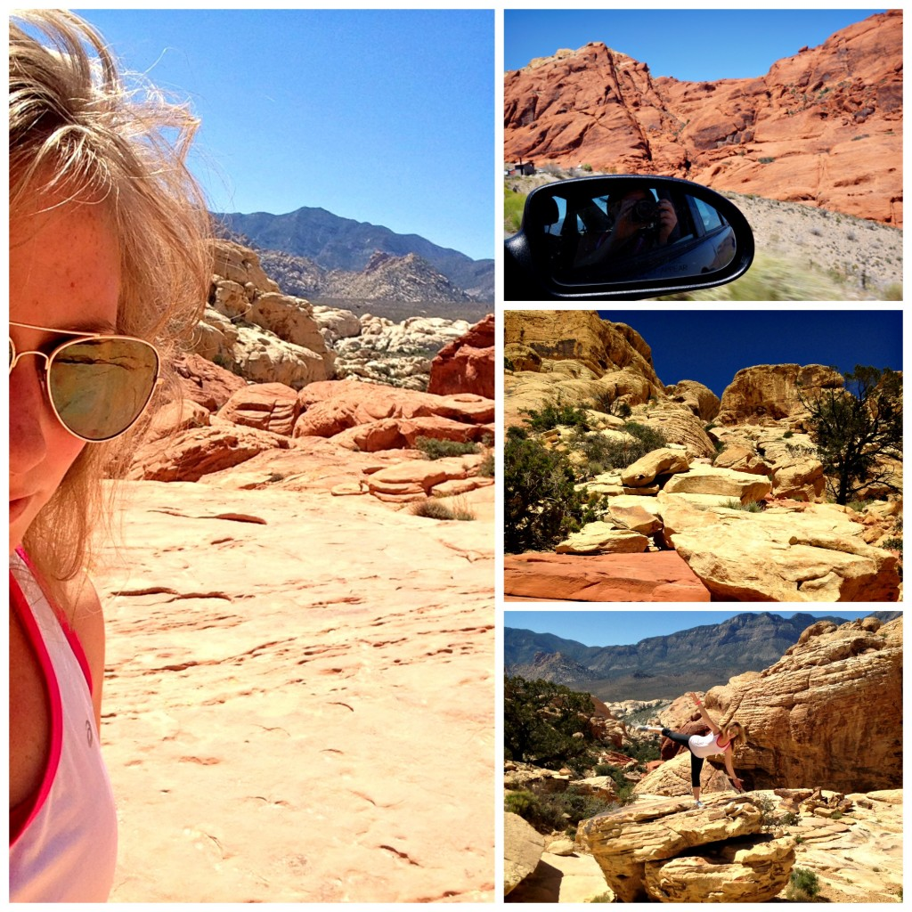 red rock canyon shots