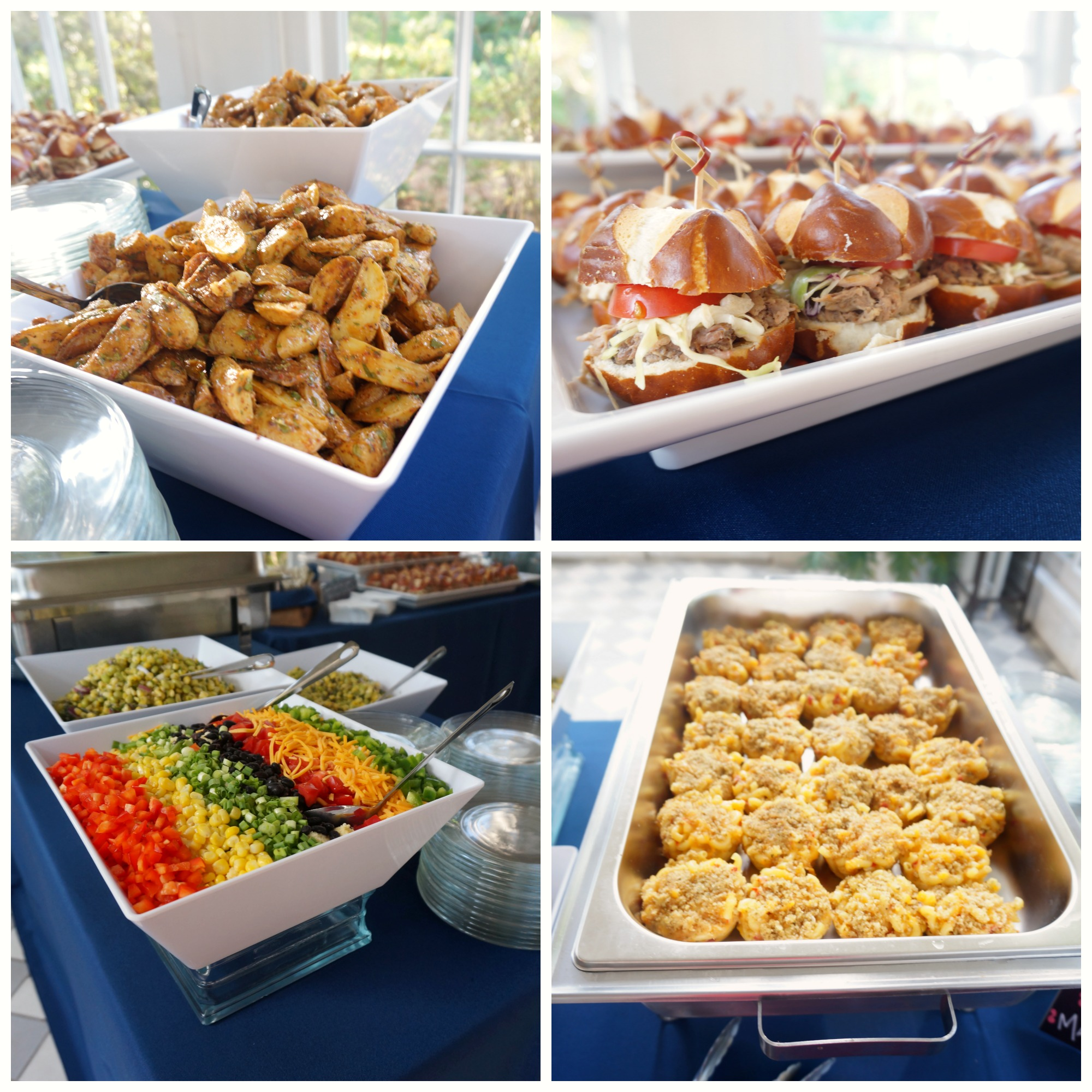 catering wedding food
