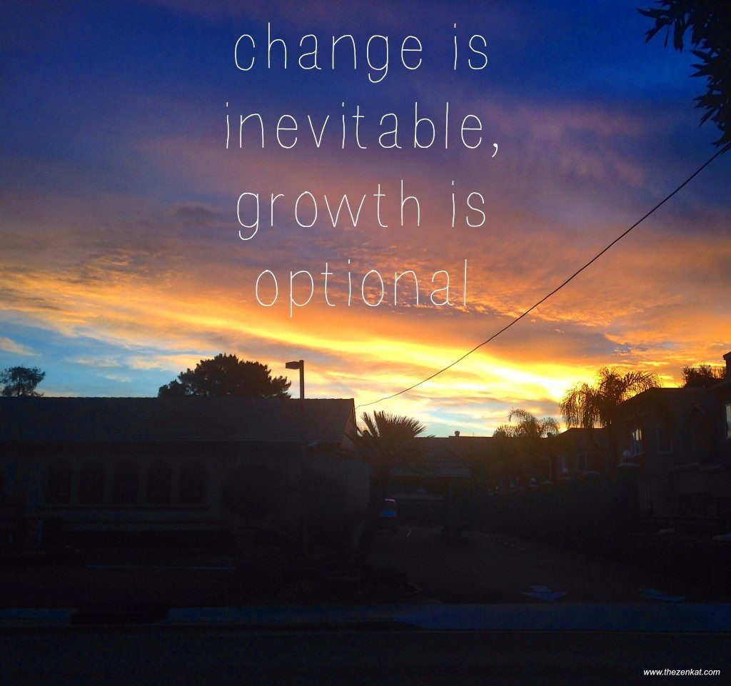 Quotes About Change And Growth: Booking It To The Bay Area