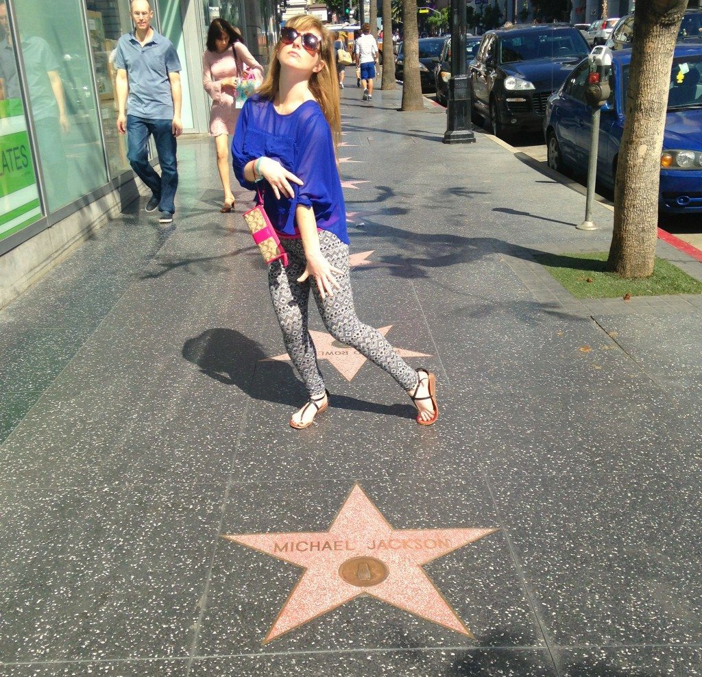 michael jackson hollywood star