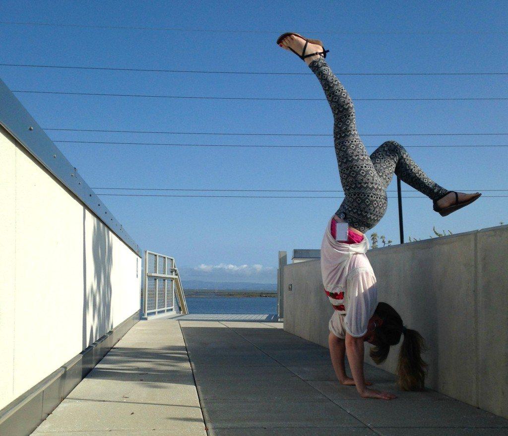 midair handstand
